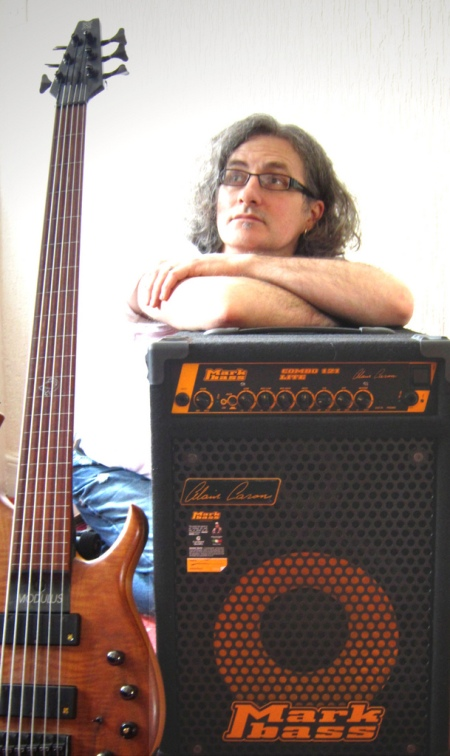 Steve Lawson and the new Markbass Combo