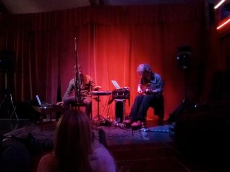 Steve Lawson and Daniel Berkman live in Oakland
