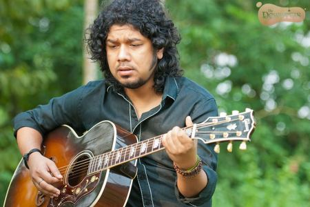 Angaraag 'Papon' Mahanta at the performance of 'Khule Da Rabb'