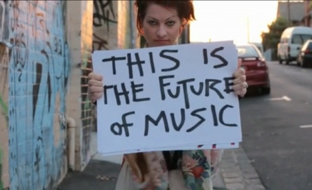 This is the future of music - Amanda Palmer