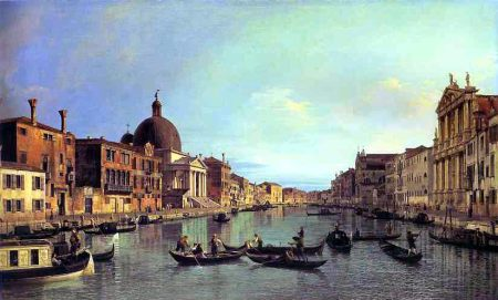 Grand Canal Venice -- Canaletto