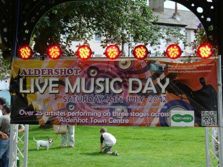 Aldershot live music day