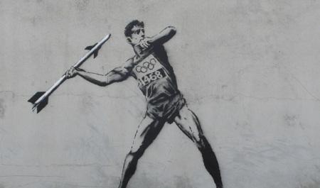 Bansky Olympic art