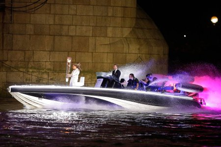 David Beckham on motor launch