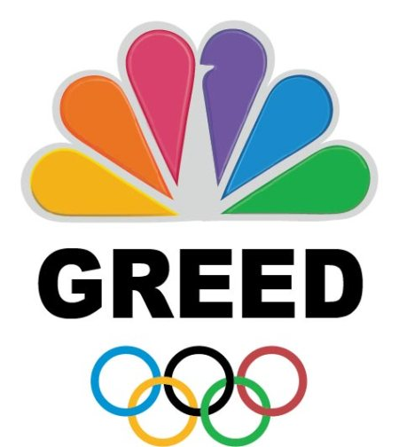 London 2012 NBC greed