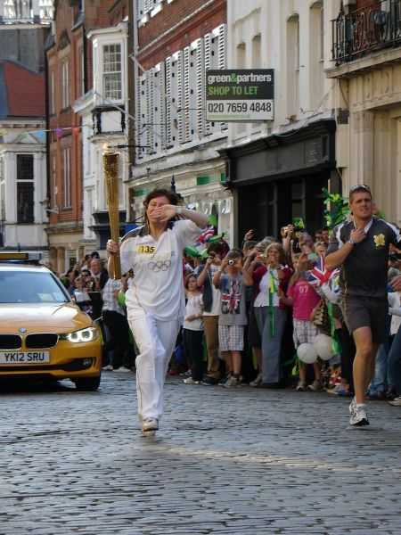 Olympic torch relay Guildford