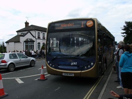 stagecoach gold diversion passing the Swan