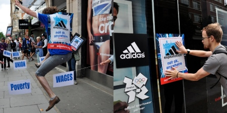 The Adidas sponsored Exploitation Games