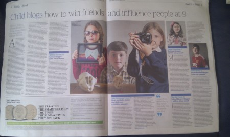 Child blogs how to win friends and influence people at 9