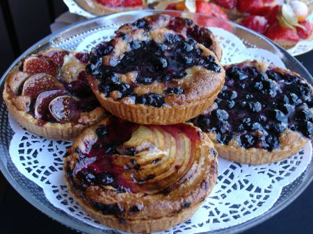 The Bridge Patisserie fruit tarts