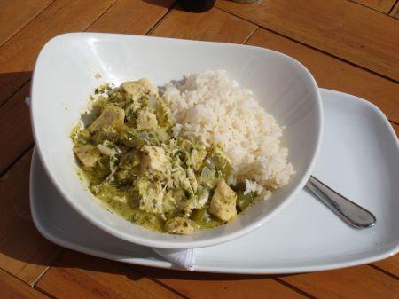 Café Mila Thai green curry