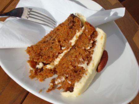 Café Mila carrot cake