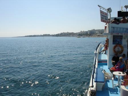 Nappa King about to set sail
