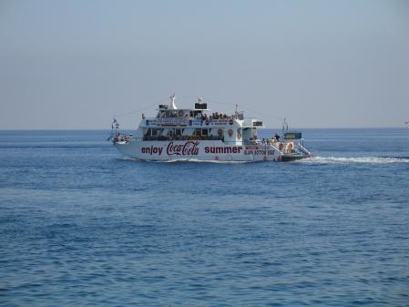 Nappa King setting sail for Famagusta