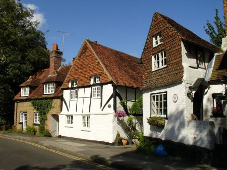 cottages in Mill Lane