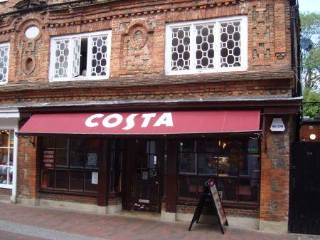 Costa eyesore in Godalming High Street