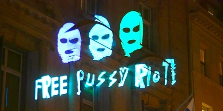 Free Pussy Riot on Russian Consulate in Manhattan