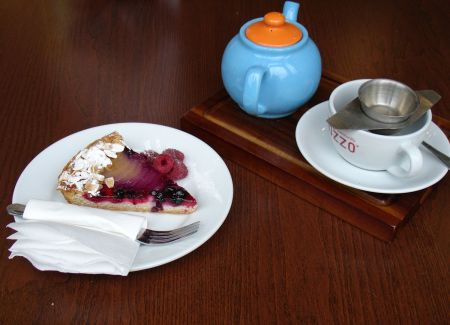afternoon tea at The Bridge Patisserie