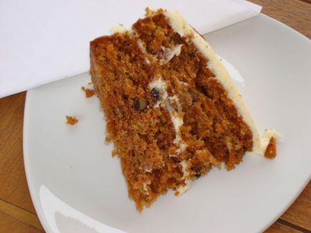 scrumptious carrot cake