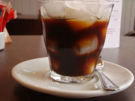 absolutely disgusting iced espresso