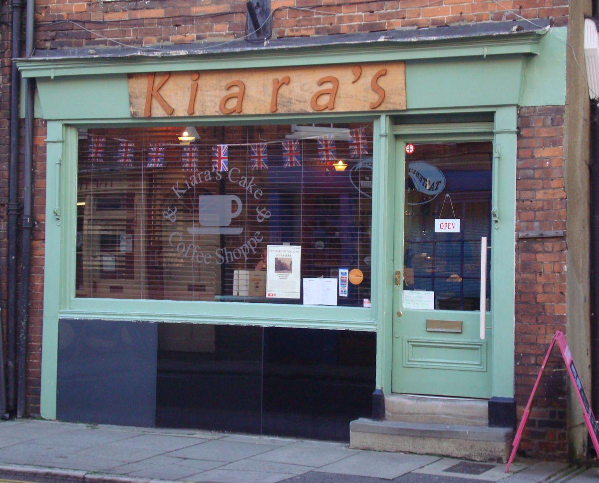 Kiara's a tea shop in Farnham
