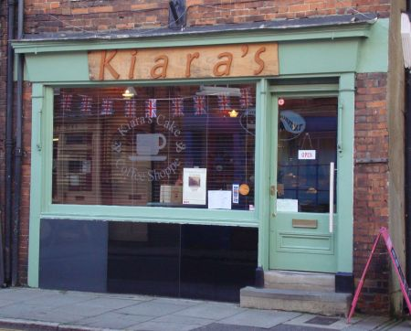 Kiara's a tea shop in Farnham