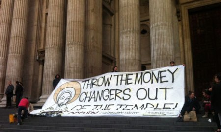 throw the money changers out of the temple