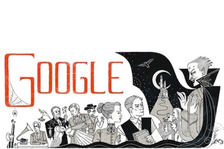 Bram Stoker Dracula doodle