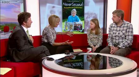 Martha and David Payne on BBC One Breakfast