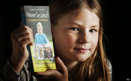 Martha with her book NeverSeconds