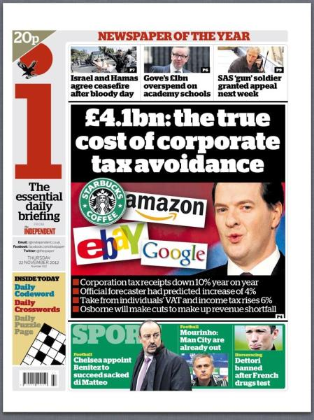 £4.1bn: the true cost of tax avoidance