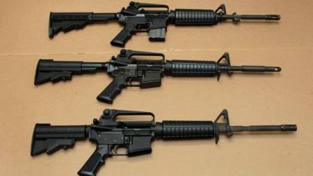 AR-15 Bushmaster assault rifle