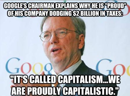 Google tax dodgers