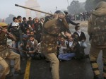 corrupt Indian police brutally attack peaceful protesters