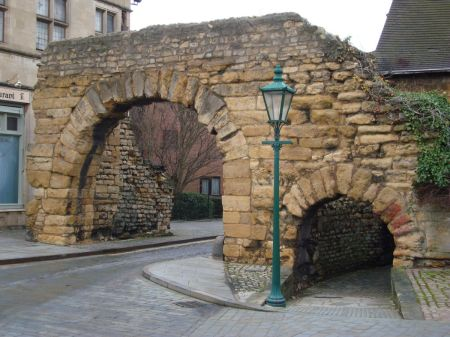 Newport Arch - Roman gateway to Lindum Colonia
