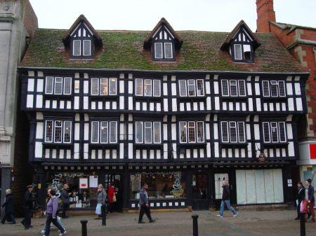 Stokes tea rooms on  High Bridge