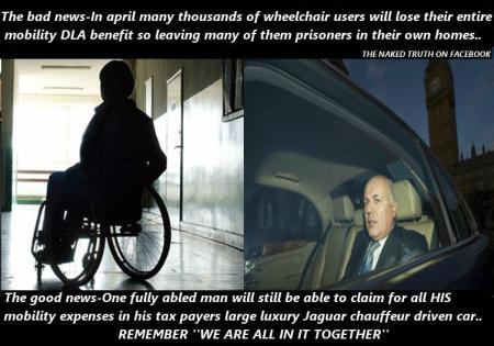 disabled bastardised by ATOS