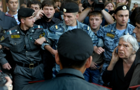 Russia clampdown on dissent