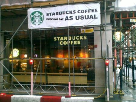 Starbucks Coffee dodging tax as usual