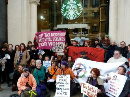 Starbucks Occupied Islington