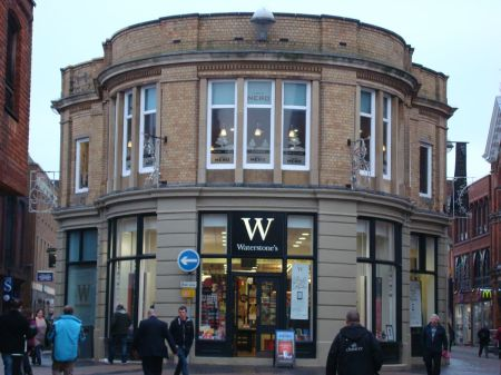 Waterstone's Lincoln former Corn Exchange