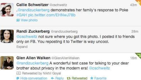 Zuckerberg spat with Schweitzer