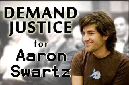 Demand Justice for Aaron Swartz