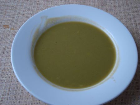 County Restaurant leek and potato soup