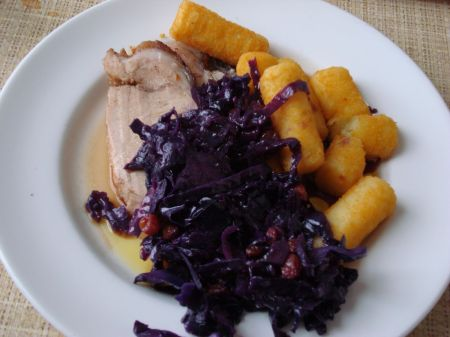 County Restaurant roast pork
