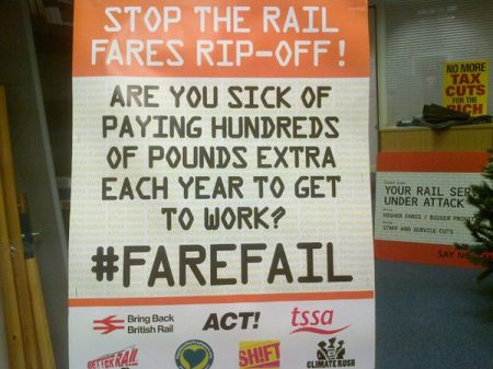 farefail at Kings Cross