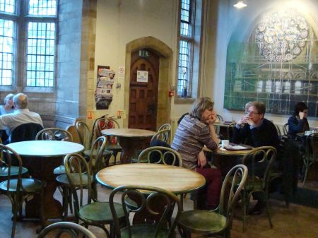 Lincoln Cathedral tea shop