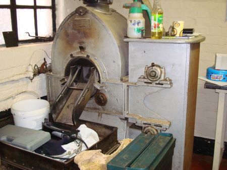 old coffee roaster