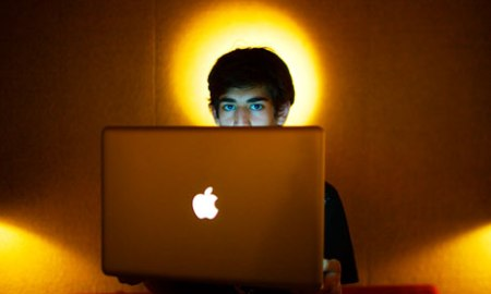 The internet activist Aaron Swartz