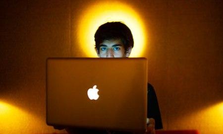 The internet activist Aaron Swartz